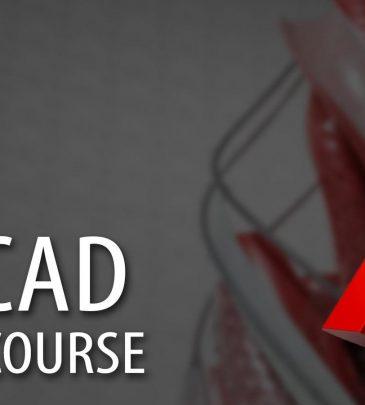 Autocad 2d and 3d course – online classroom